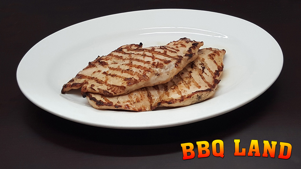 BBQ Land BBQ Boneless Chicken Breast Plates