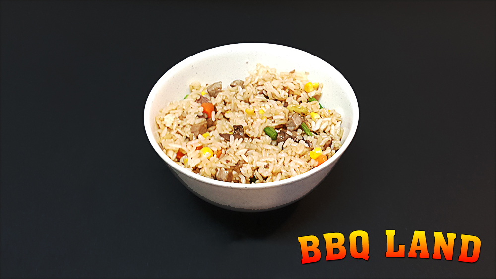 BBQ Land Beef Fried Rice