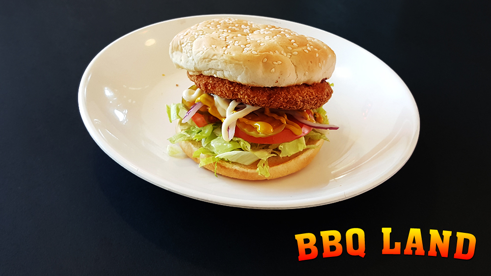 BBQ Land Chicken Burger