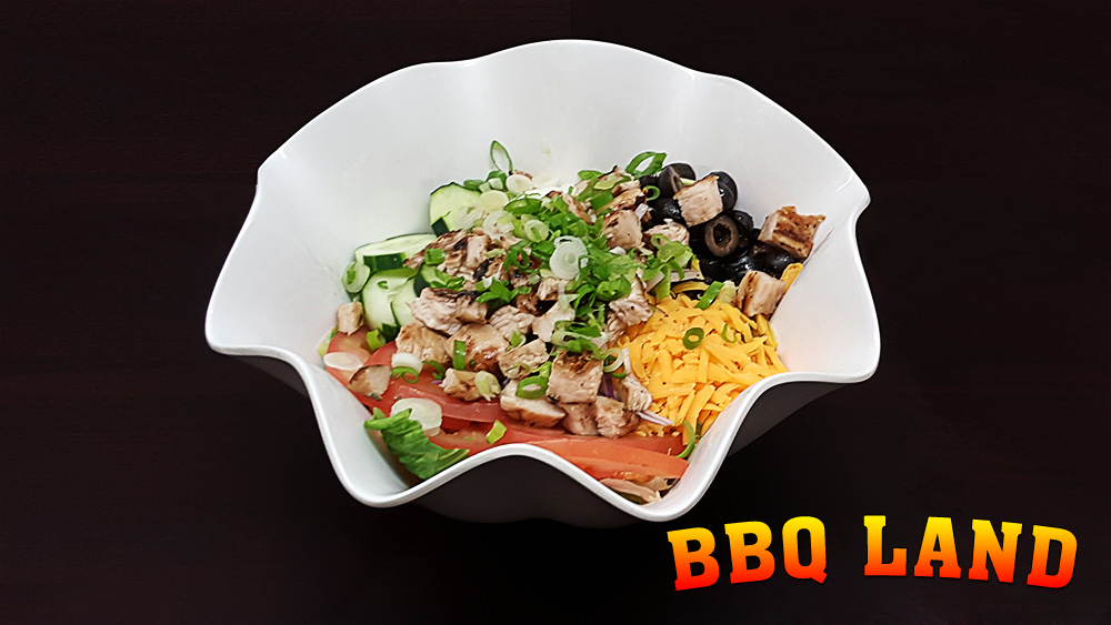 BBQ Land Grilled Chicken Salad