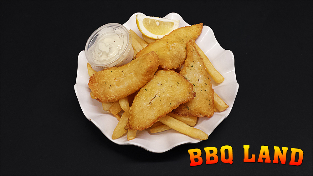 BBQ Land Fish and Chips