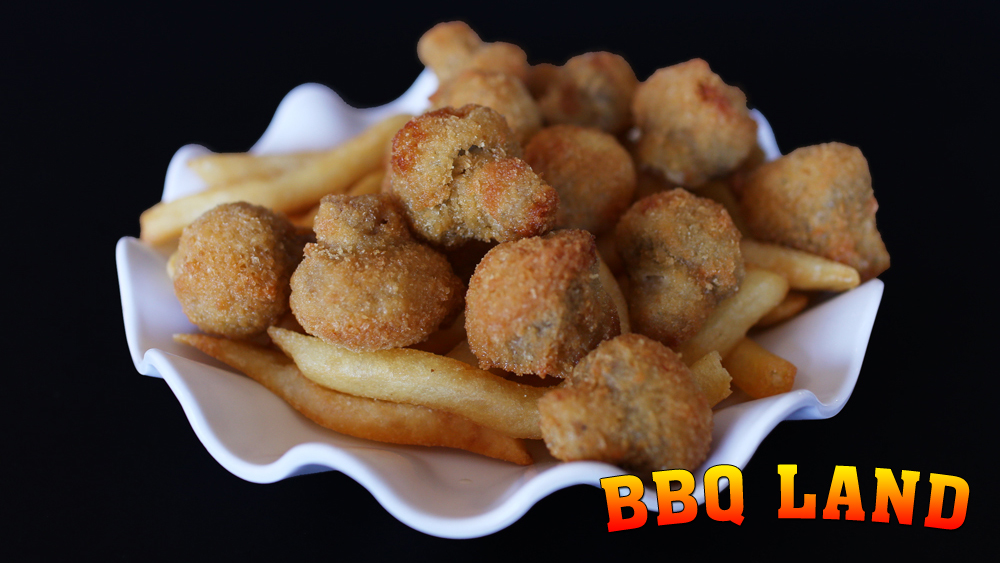 BBQ Land Fried Mushrooms